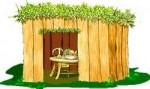 Wooden Succah